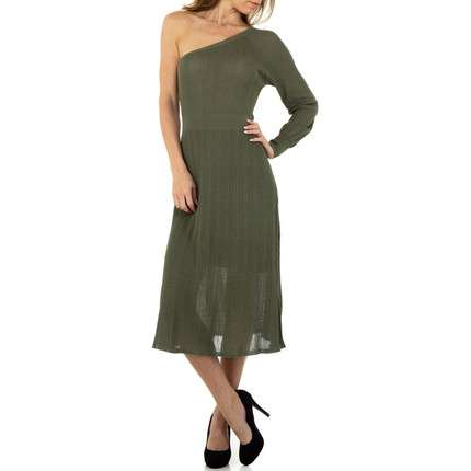 Damen Kleid von Voyelles Gr. One Size - green
