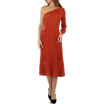 Damen Kleid von Voyelles Gr. One Size - orange