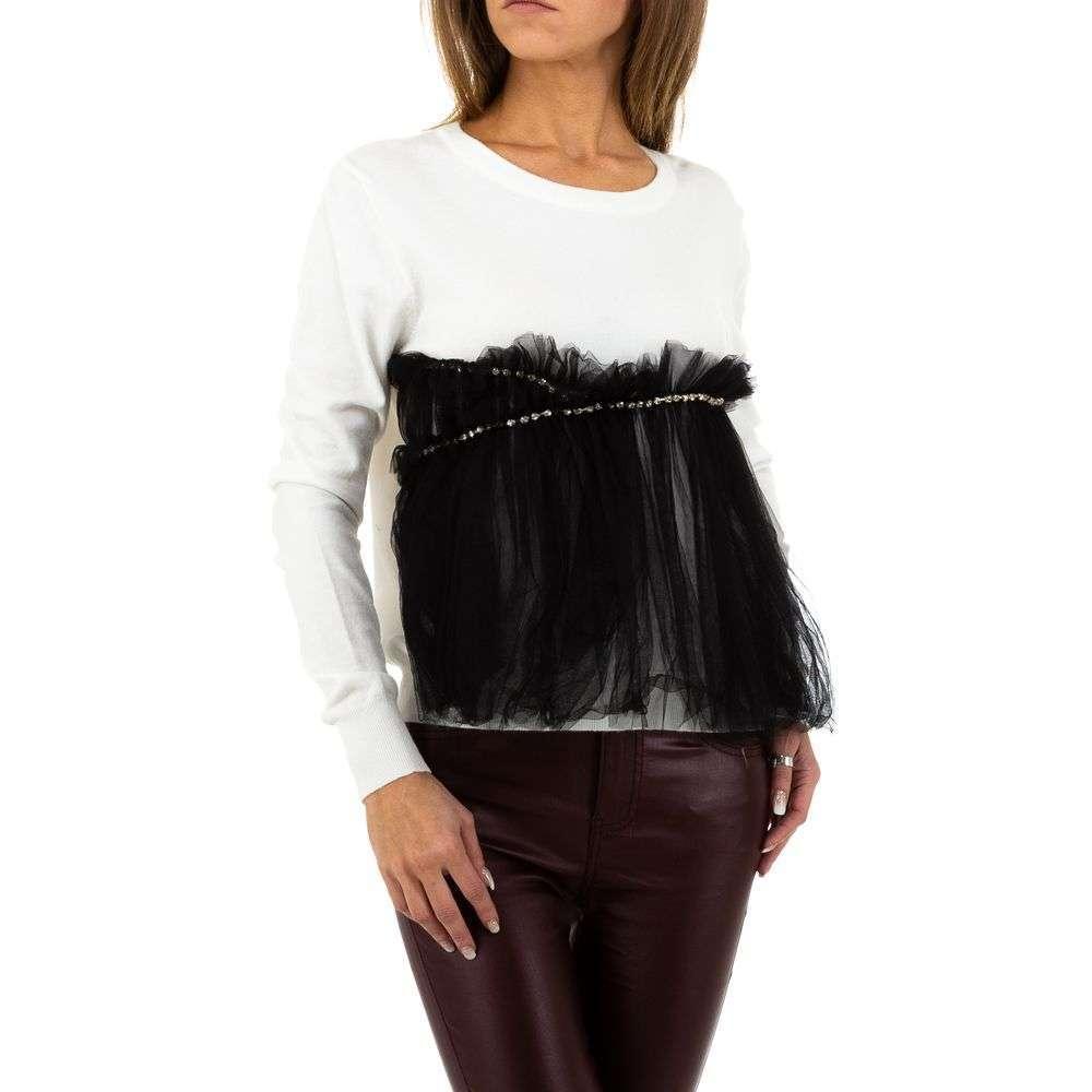 Pulover pentru femei de SHK Paris Gr. O singură mărime - alb - image 1