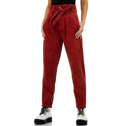 Damen Hose von See See Denim - red