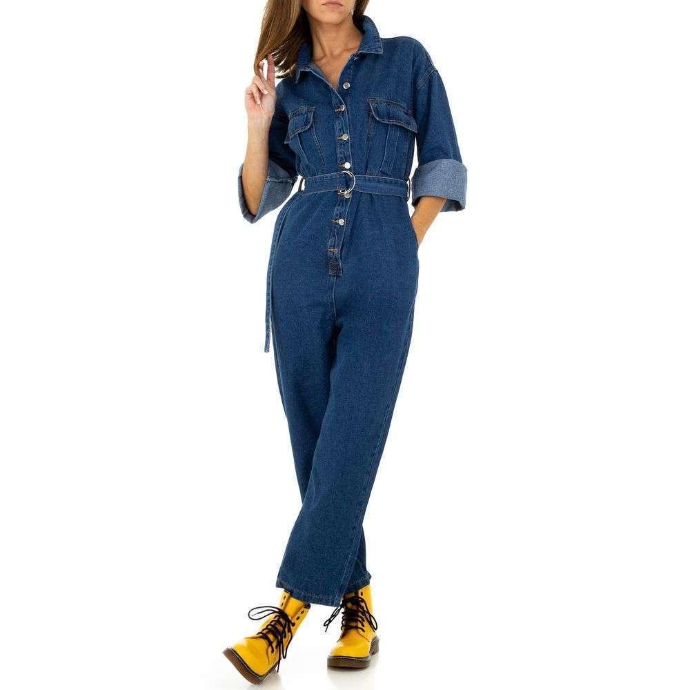 Pantaloni pentru femei de See See Denim - albastru