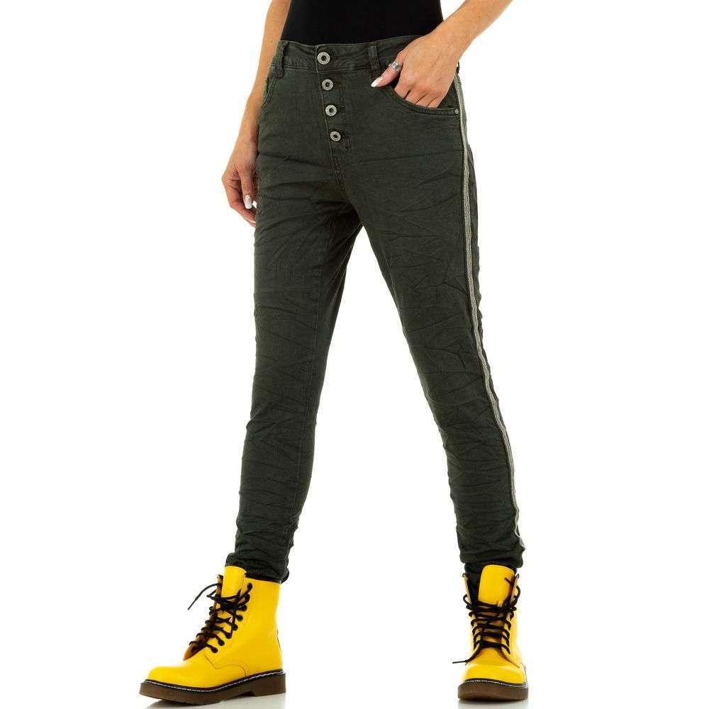 Blugi de damă marca Lexxury Jeans - verzi - image 1