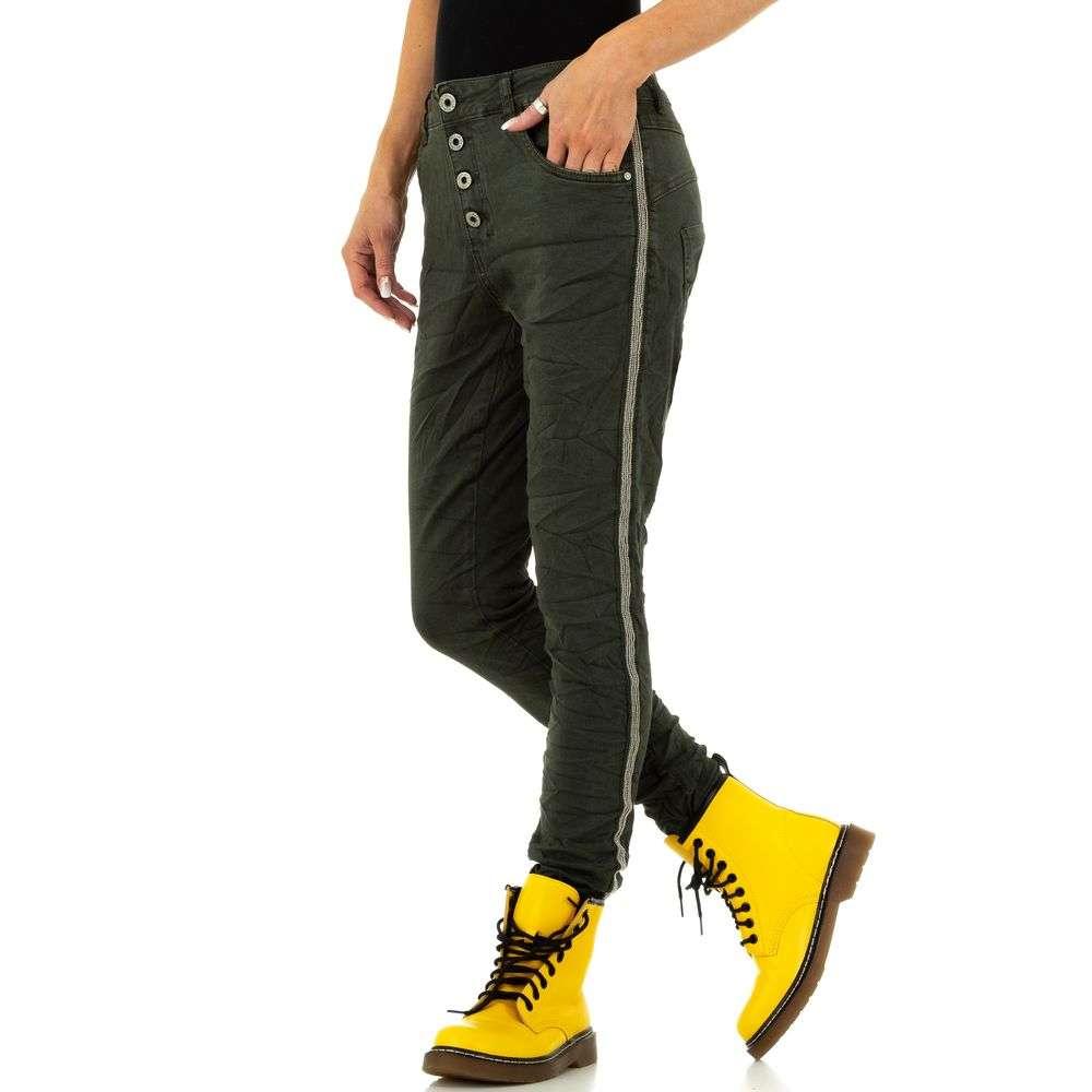 Blugi de damă marca Lexxury Jeans - verzi - image 2