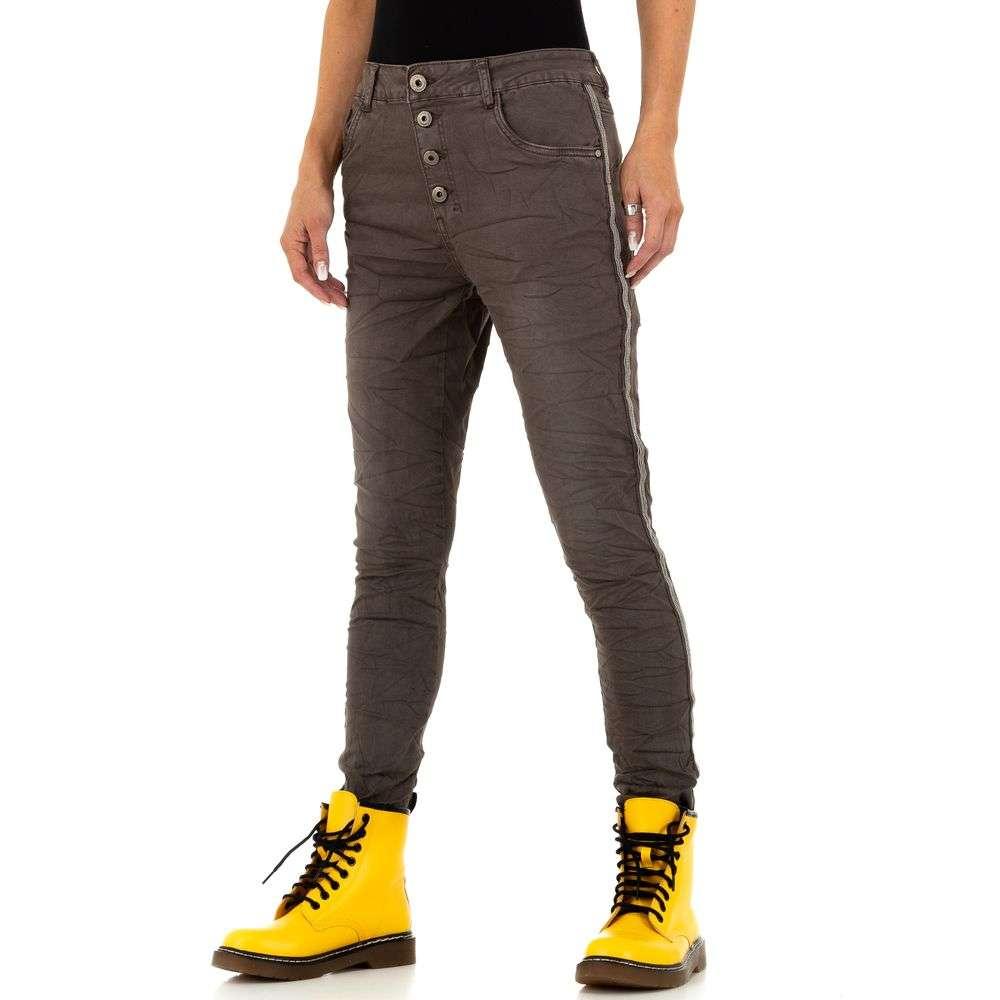 Blugi pentru femei de Lexxury Jeans - cafea
