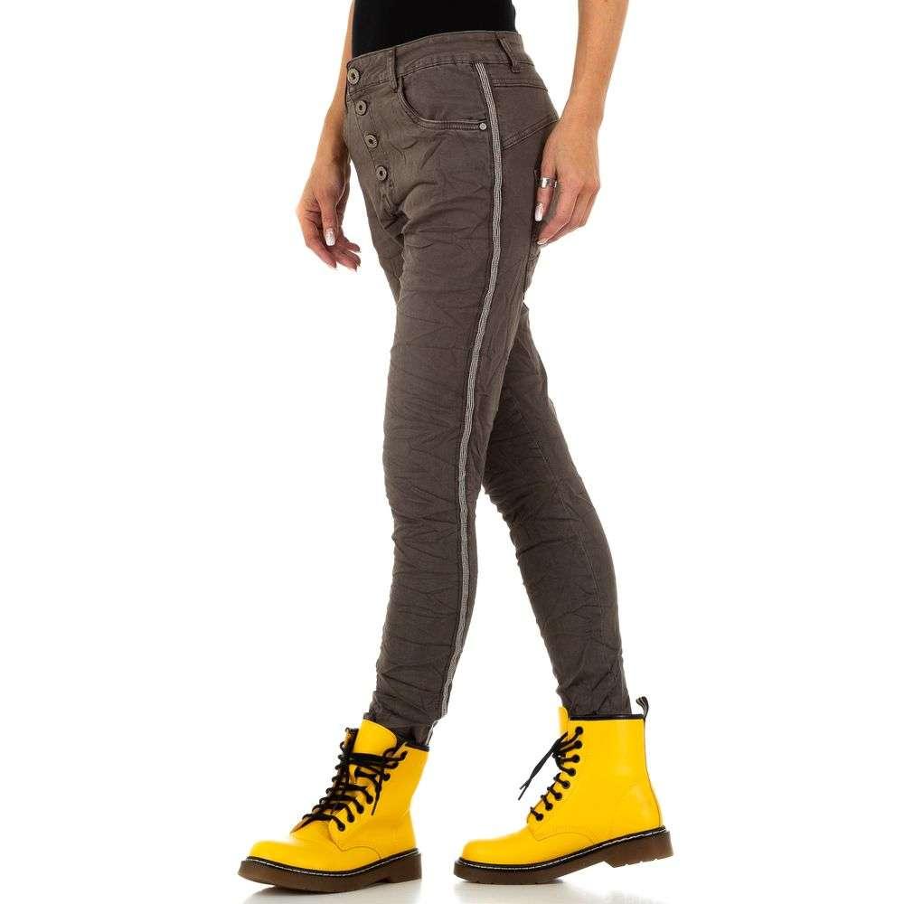 Blugi pentru femei de Lexxury Jeans - cafea - image 2