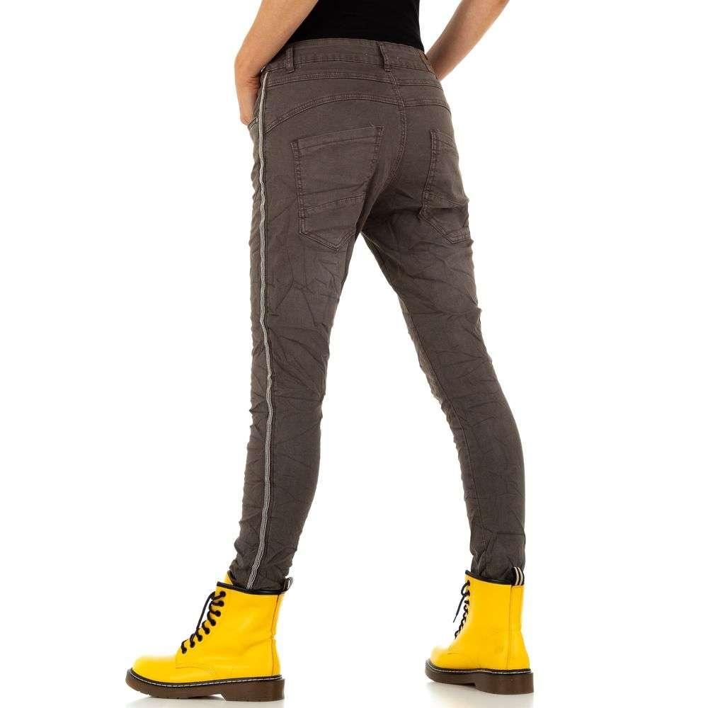 Blugi pentru femei de Lexxury Jeans - cafea - image 3