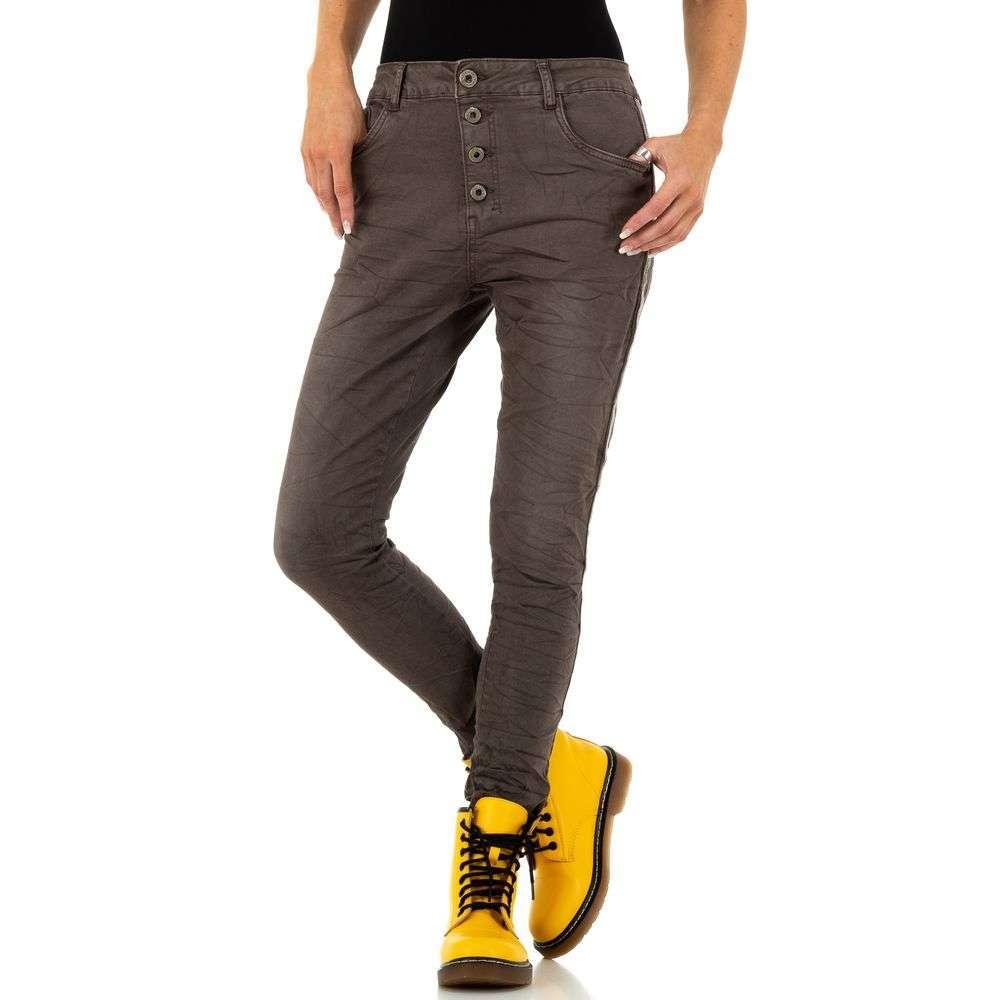 Blugi pentru femei de Lexxury Jeans - cafea - image 4