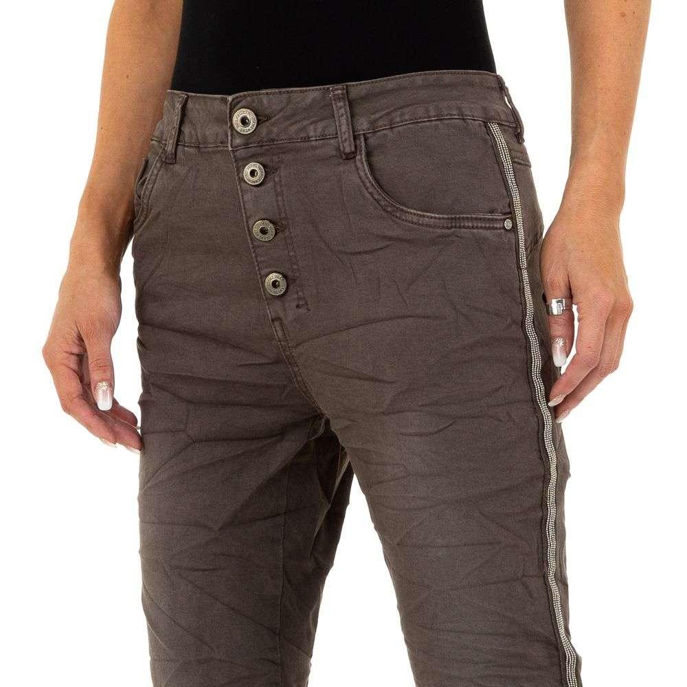 Blugi pentru femei de Lexxury Jeans - cafea - image 5