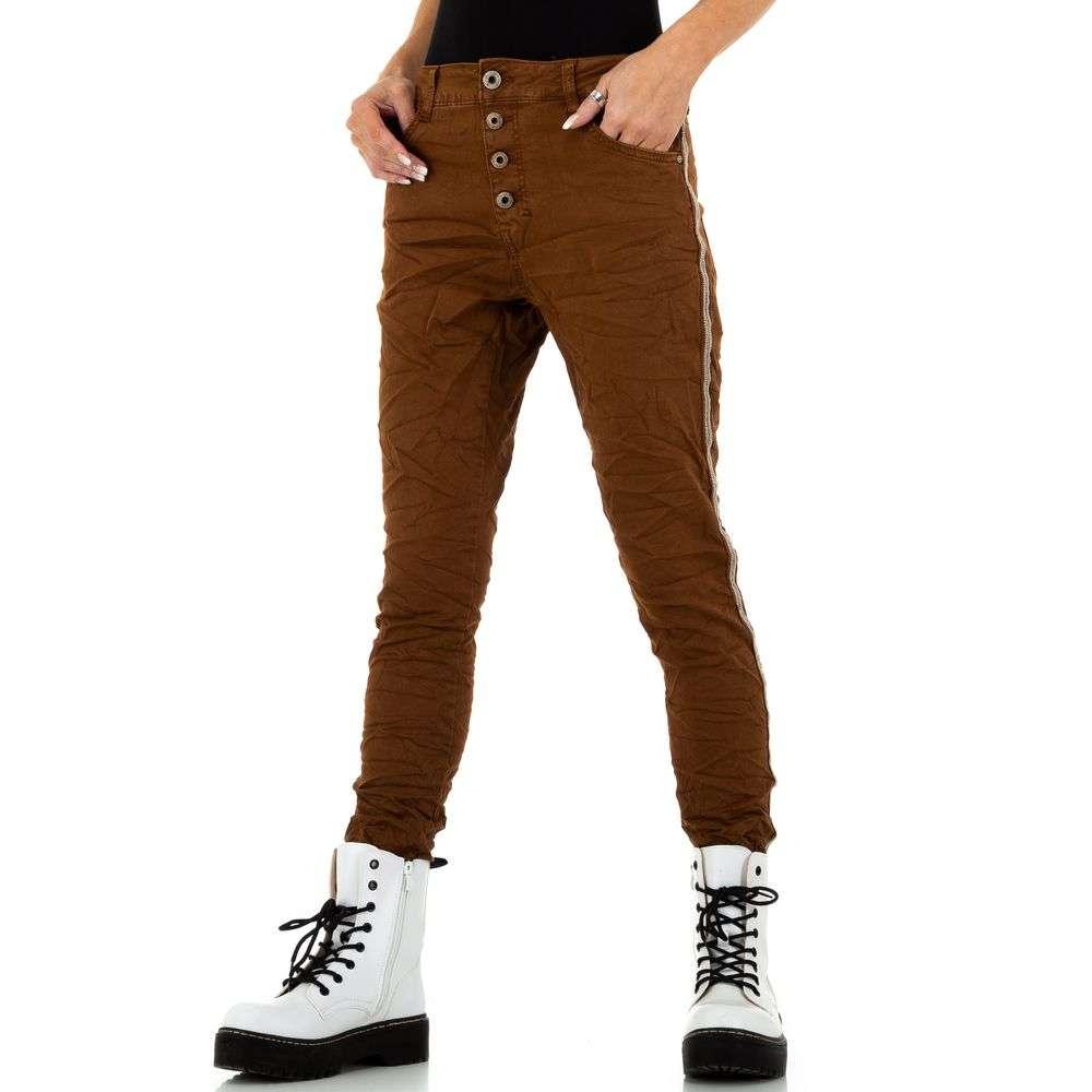 Blugi de damă marca Lexxury Jeans - maro