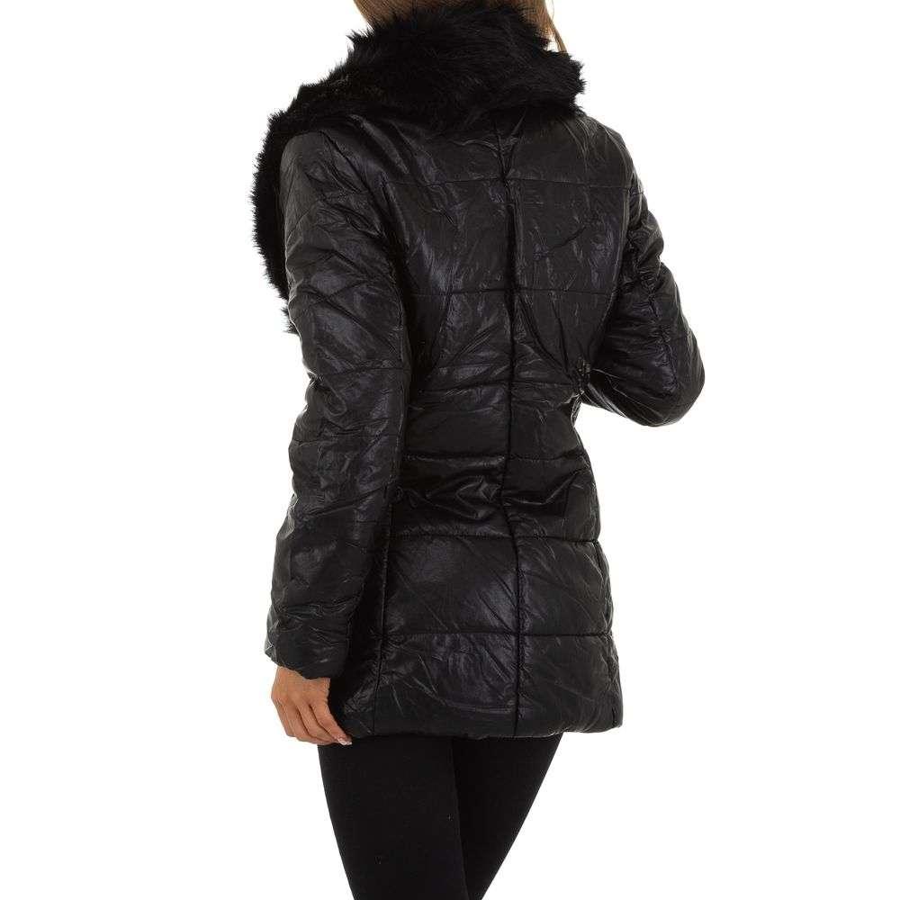 Palton de dama de la Nature - negru - image 3