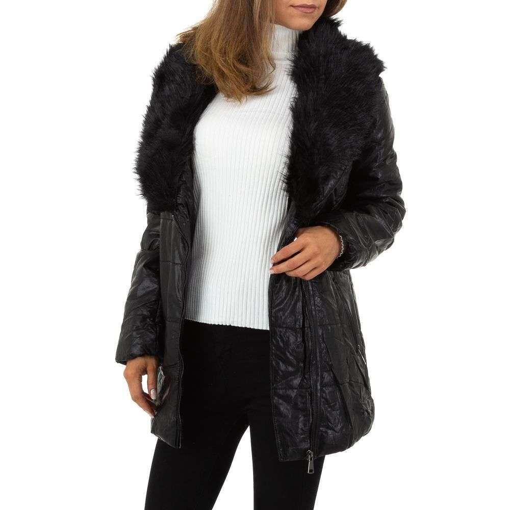 Palton de dama de la Nature - negru - image 4