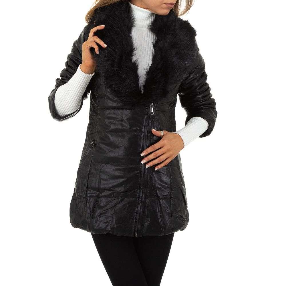 Palton de dama de la Nature - negru - image 6