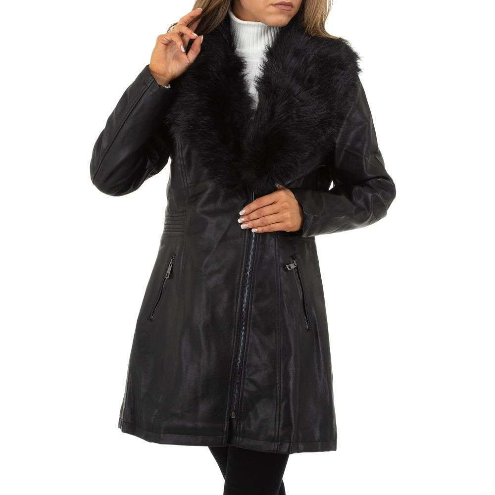 Palton de dama de la Nature - negru - image 1