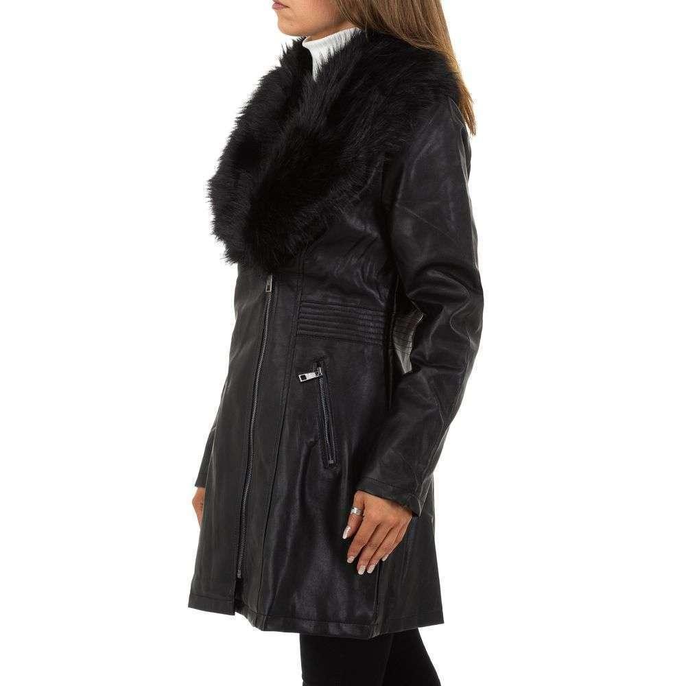 Palton de dama de la Nature - negru - image 2