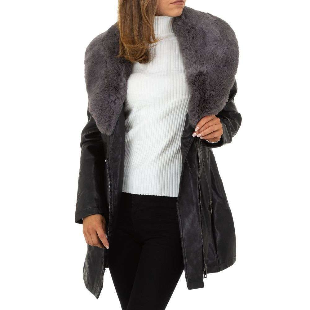 Palton de dama de la Nature - gri - image 4