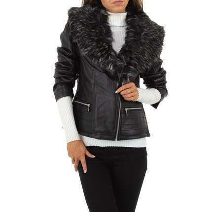 Damen Jacke von Nature - blackgrey