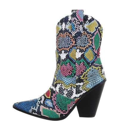 Damen Western- & Bikerboots - colourful