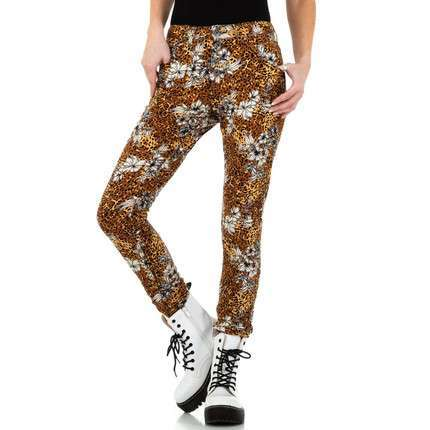 Damen Jeans von Place du Jour - brown