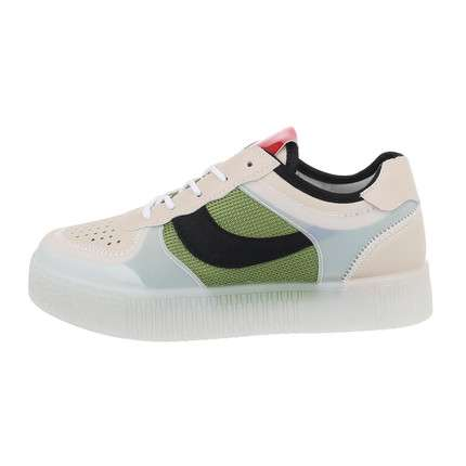 Damen Low-Sneakers - green