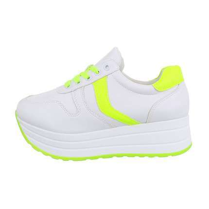 Damen Low-Sneakers - yellow