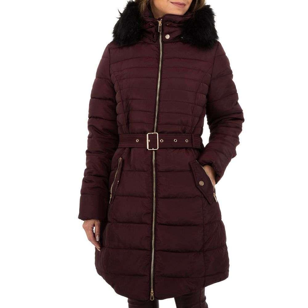 Palton de dama de la Glo storye - violet