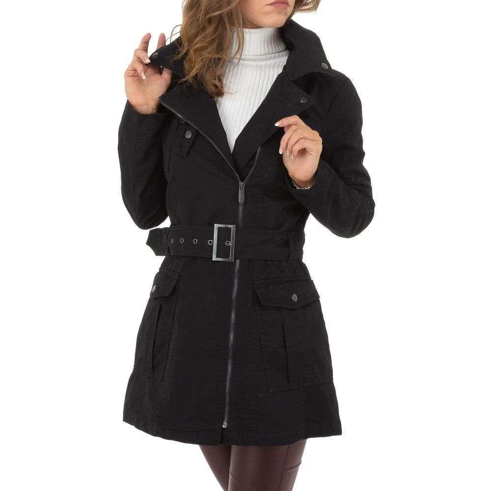 Palton de dama de la Glo storye - negru - image 1
