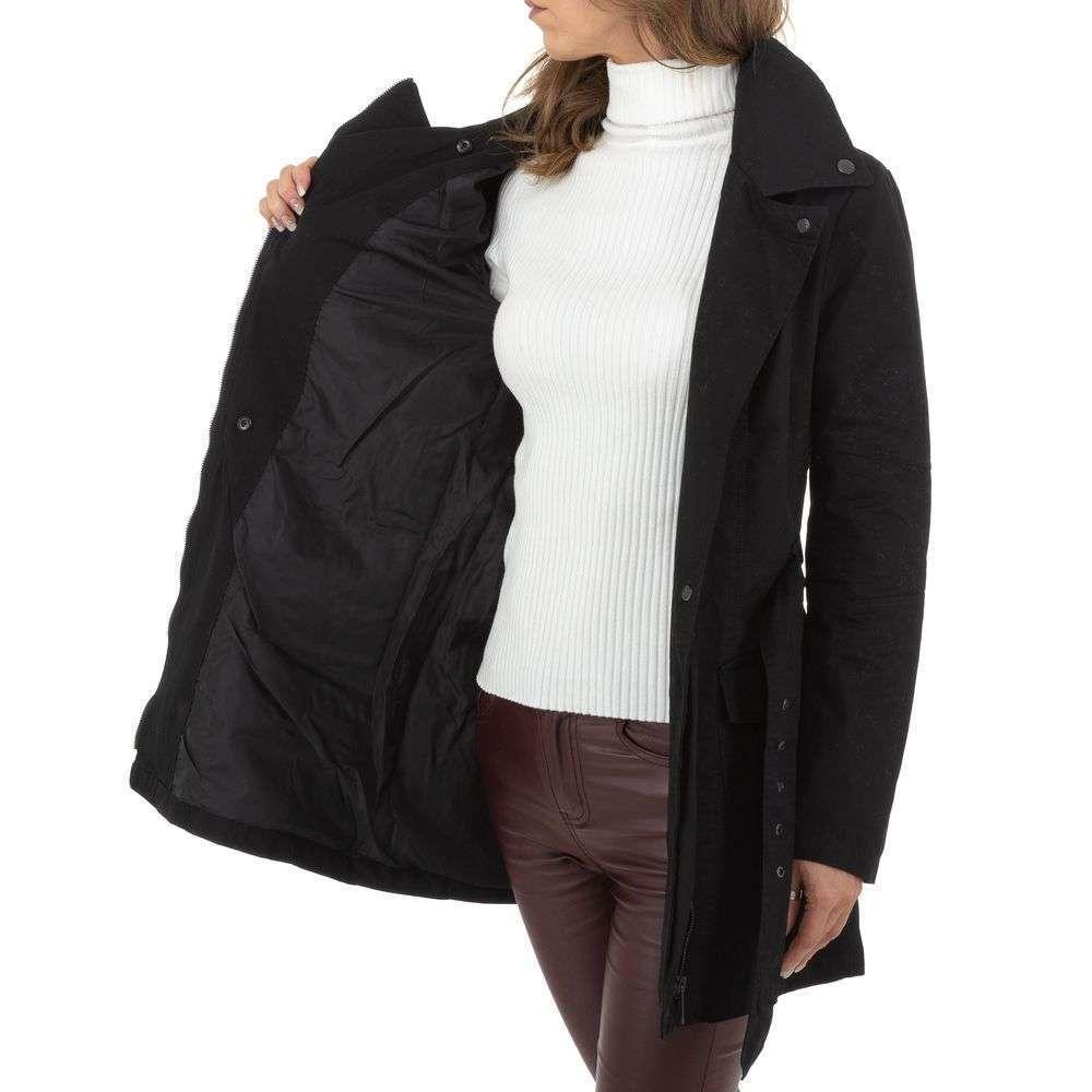 Palton de dama de la Glo storye - negru - image 6