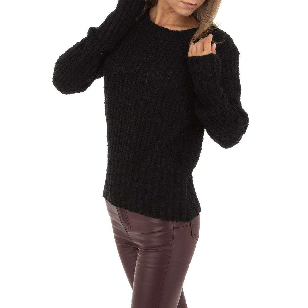 Pulover de damă de Emma% 26Ashley Design Gr. O singură mărime - negru - image 1