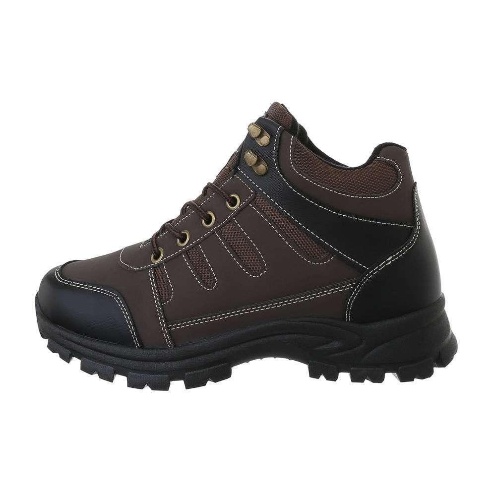 Pantofi casual pentru bărbați - maro