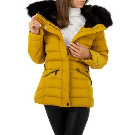 Damen Jacke von Nature - yellow