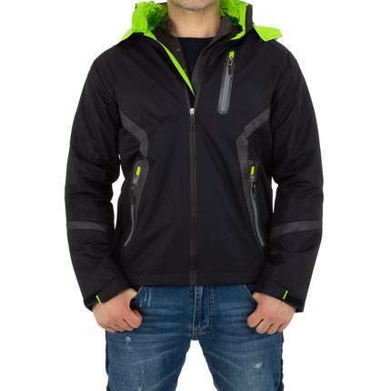 Herren Jacke von Nature - blackgreen