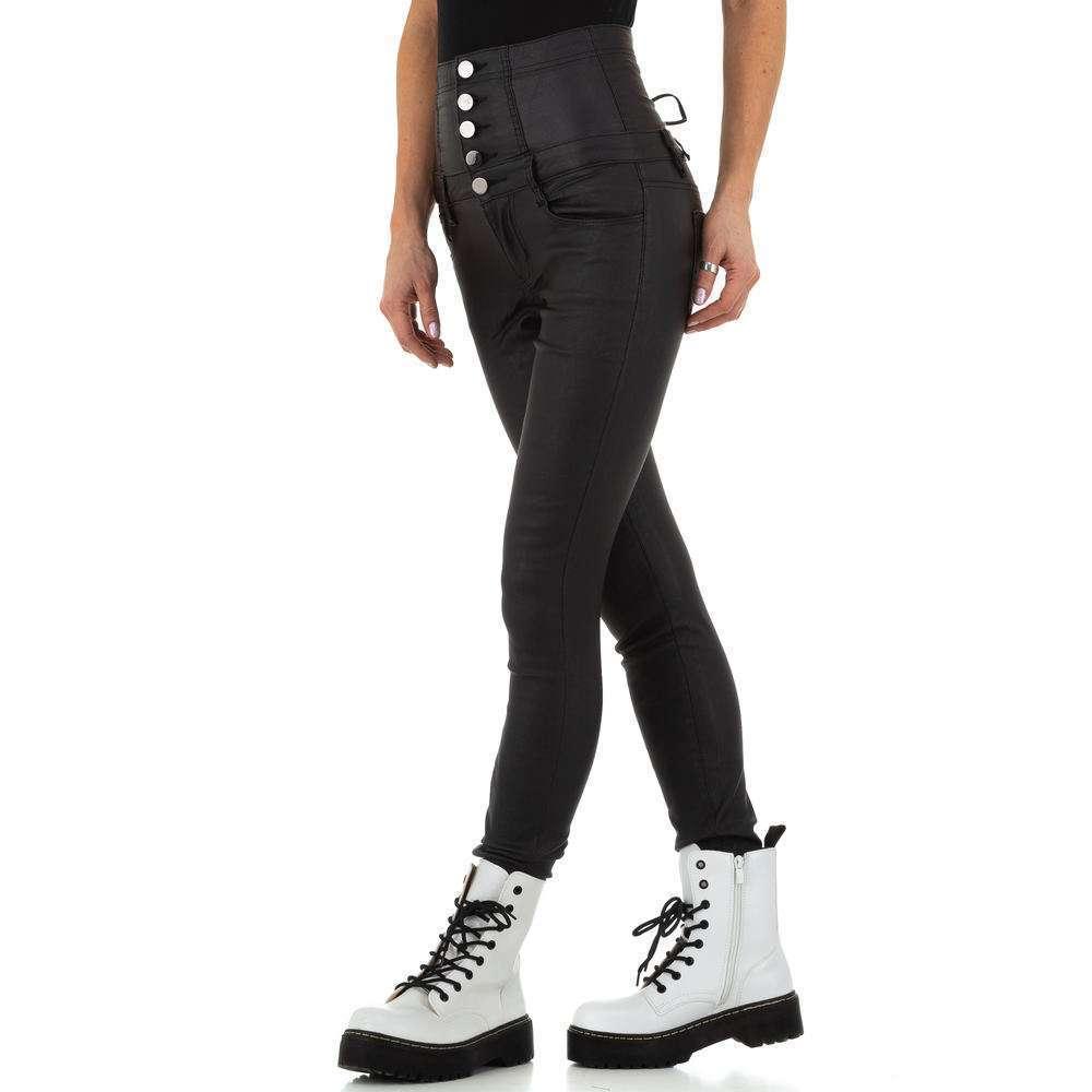 Pantaloni de dama de la Daysie Jeans - negru - image 2