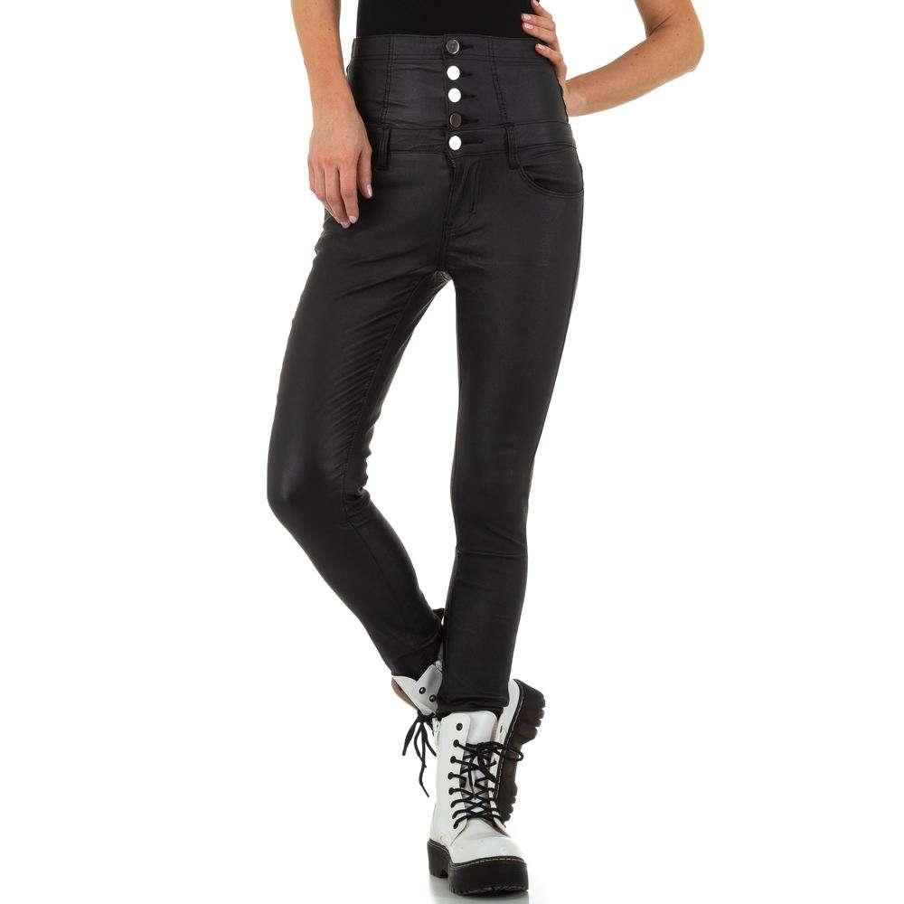 Pantaloni de dama de la Daysie Jeans - negru - image 4