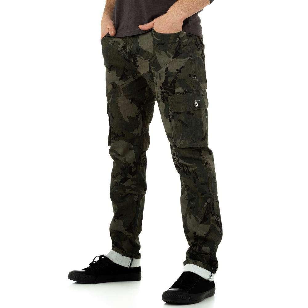 Blugi bărbați de Toll Jeans - camuflaj