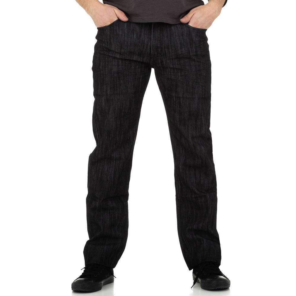 Blugi bărbați de Toll Jeans - negru