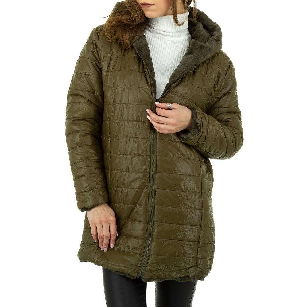 Palton de dama de Voyelles - verde - image 2
