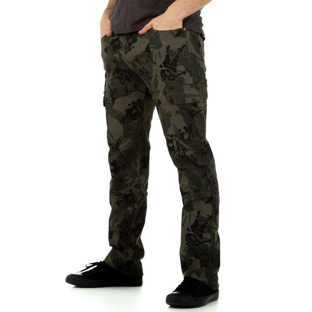 Blugi bărbați de la Toll Jeans - camuflaj