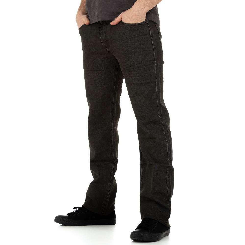Джинсы мужские Toll Jeans - черные