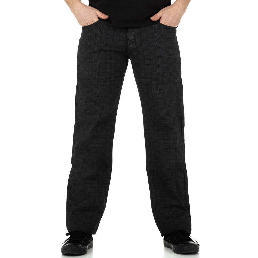 Pantaloni bărbați de Toll Jeans - gri inchis