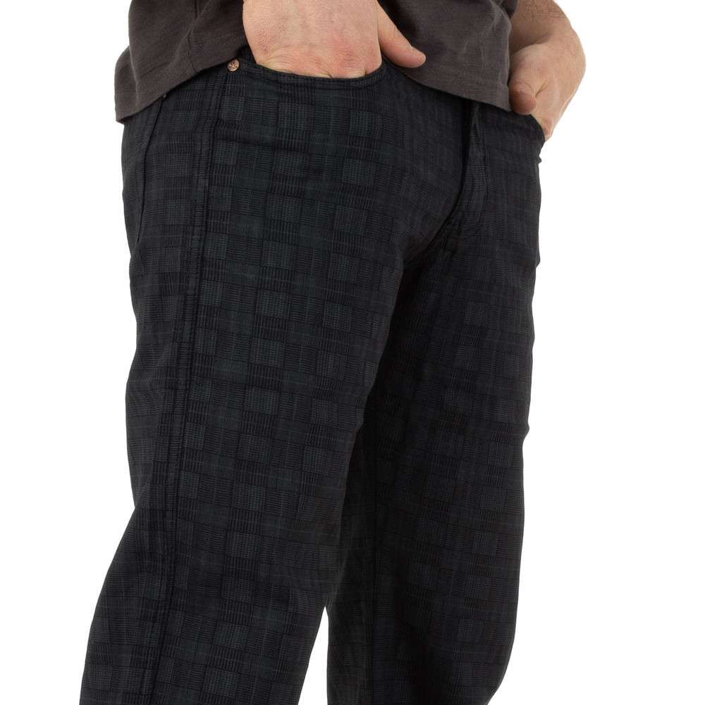 Pantaloni bărbați marca Toll Jeans - negru - image 4