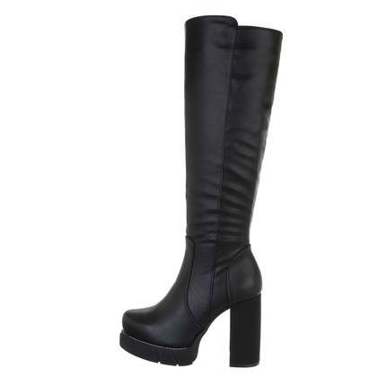 Damen High-Heel Stiefel - black