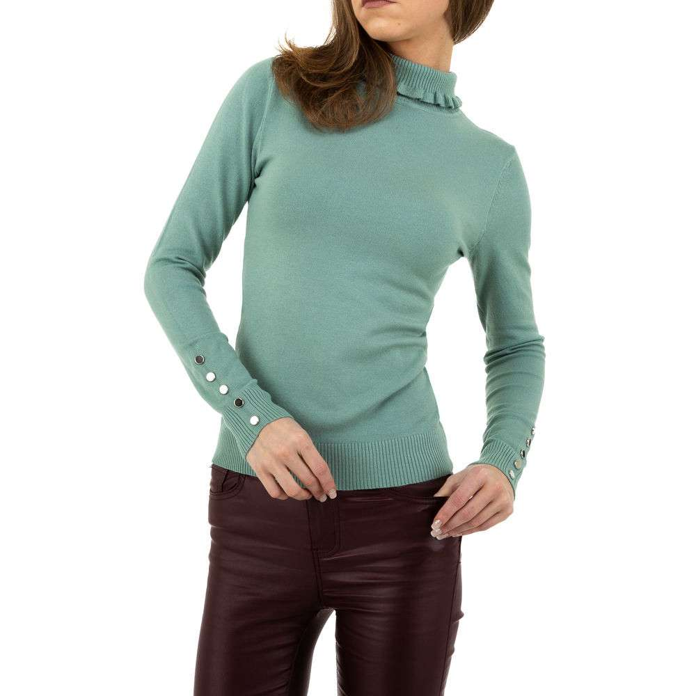 Pulover pentru femei de la Glo storye - verde