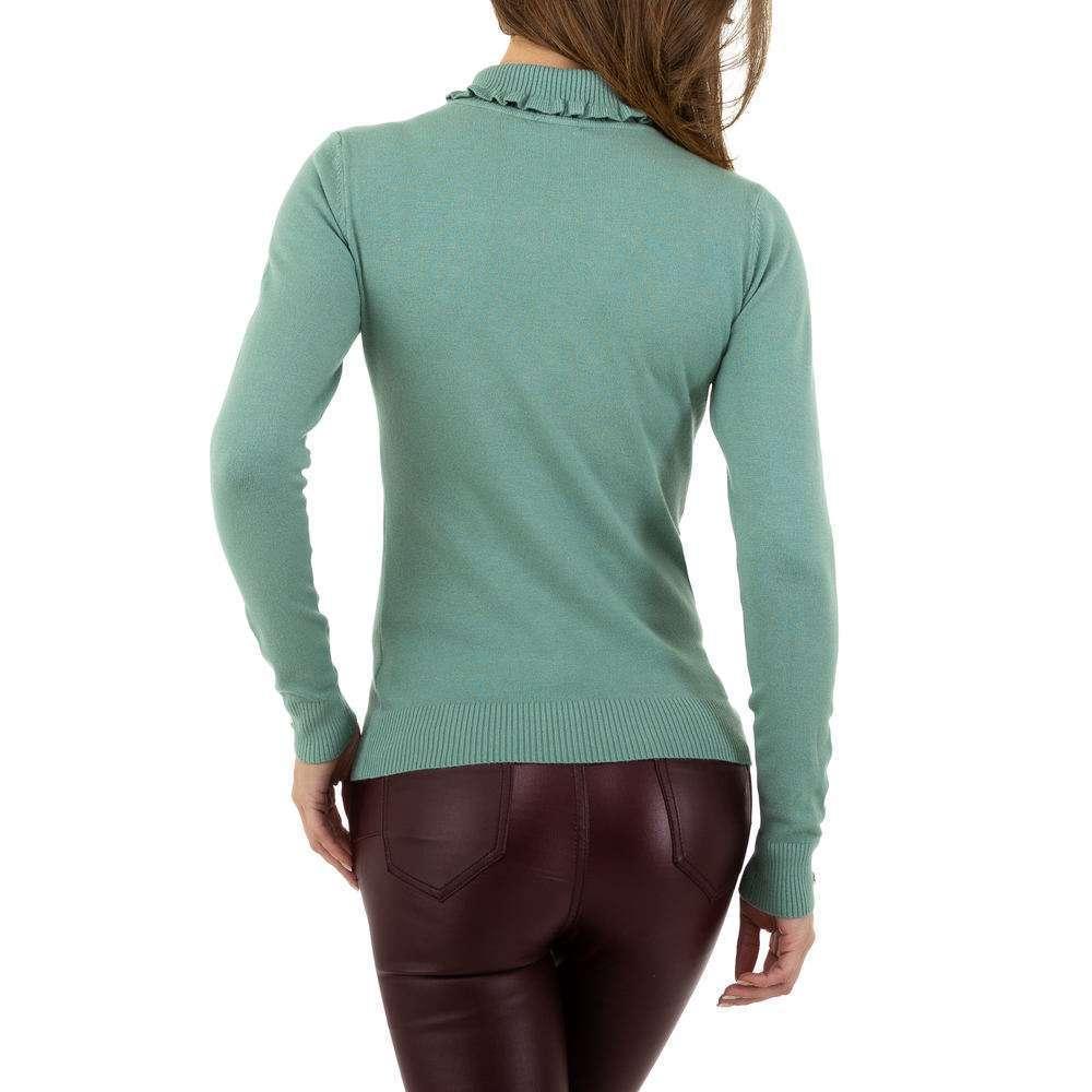 Pulover pentru femei de la Glo storye - verde - image 3