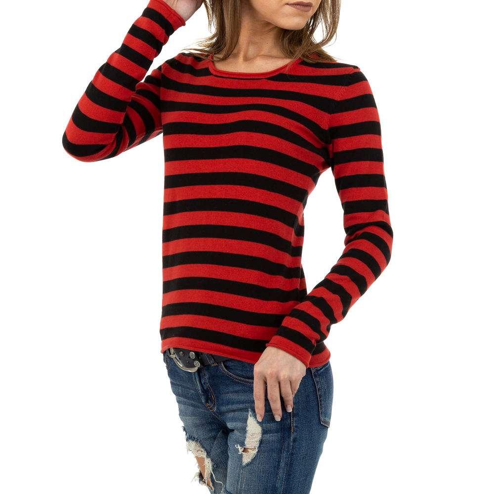 Pulover pentru femei de la Glo storye - roșu - image 2