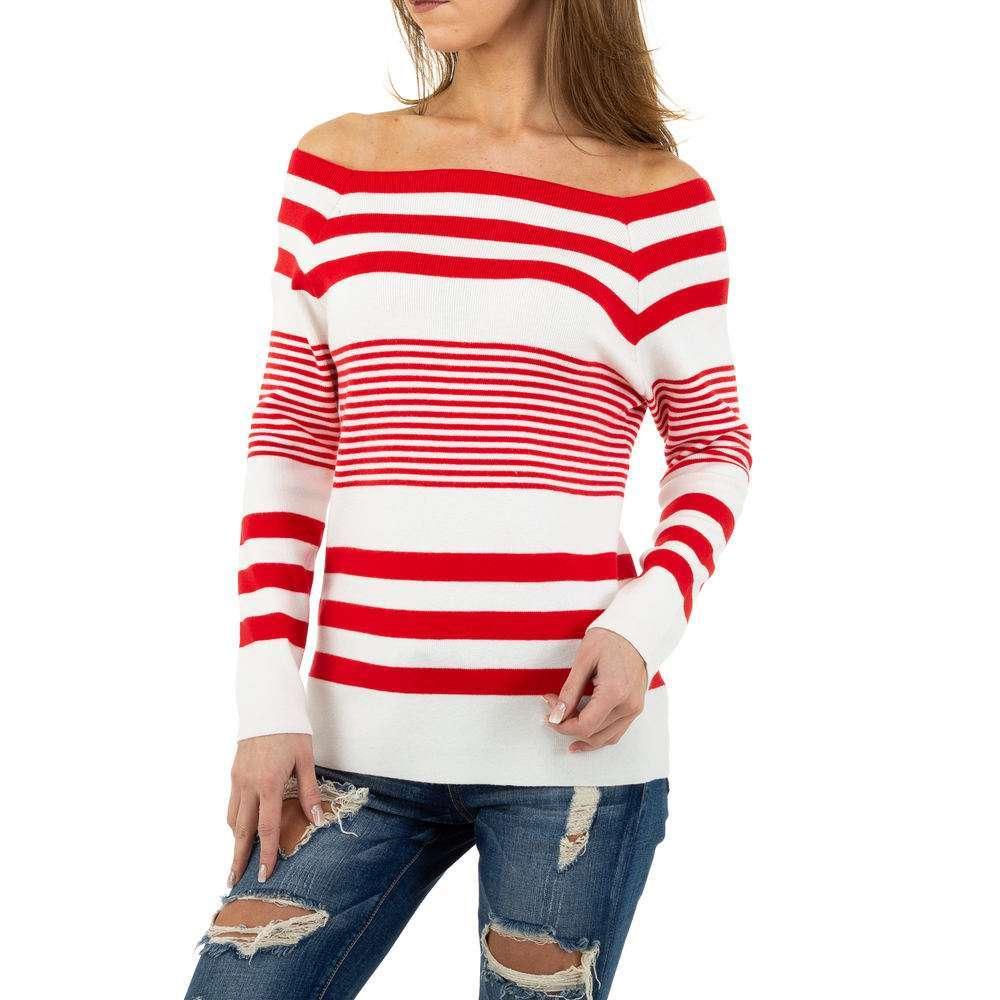 Pulover pentru femei de la Glo storye - roșu
