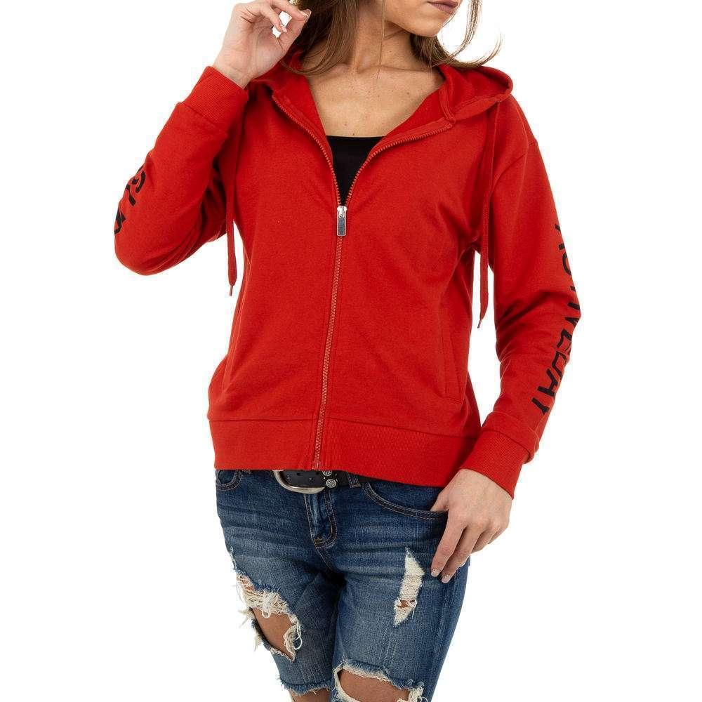 Geacă sport de femei Glo storye - roșie