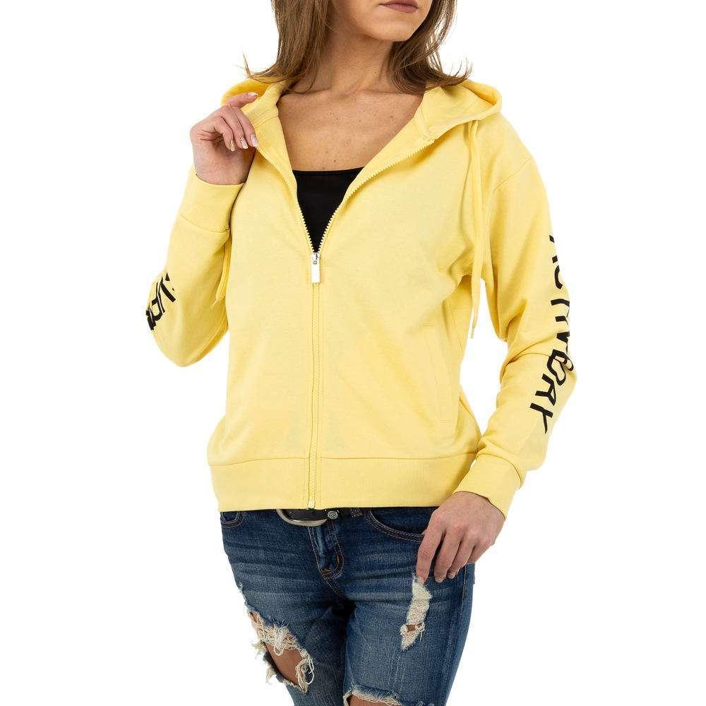 Geacă sport de femei Glo storye - galben - image 1