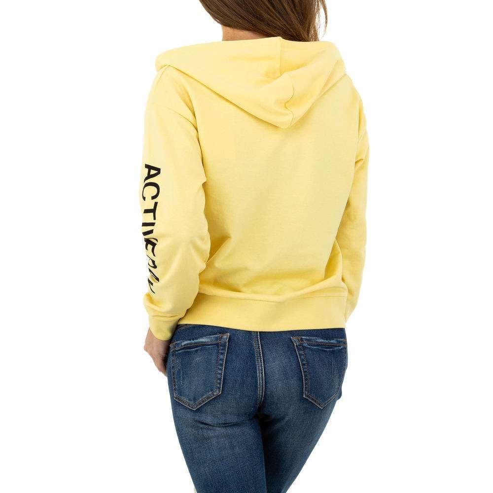 Geacă sport de femei Glo storye - galben - image 3