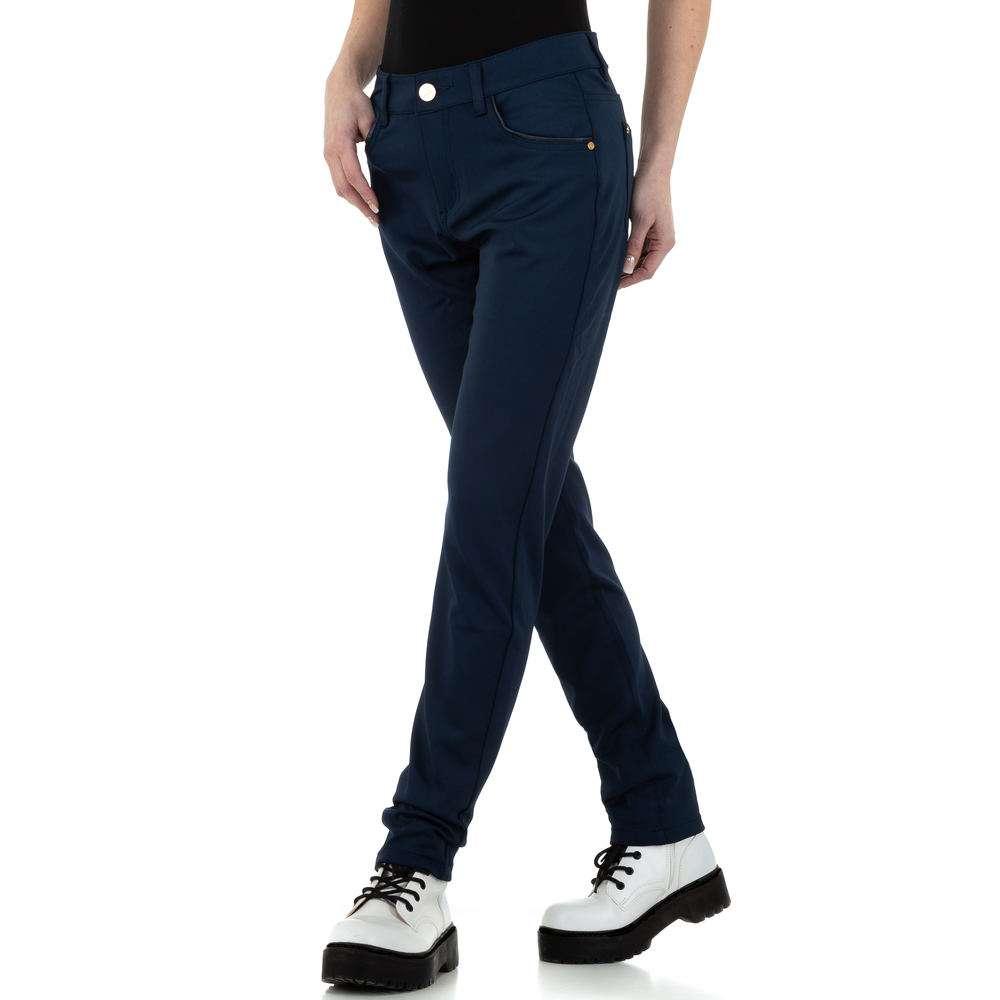Pantaloni de dama de R.Ping - albastru