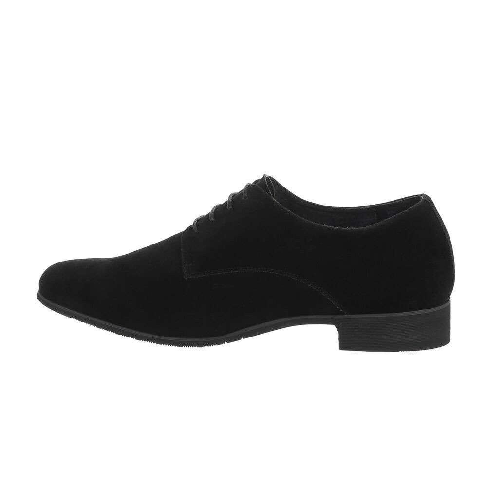 Pantofi de afaceri pentru bărbați - negri